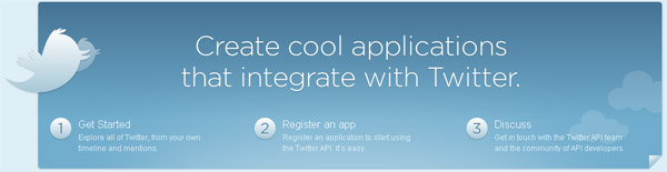 Create cool Twitter Apps