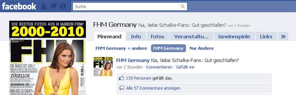 FHM Facebook