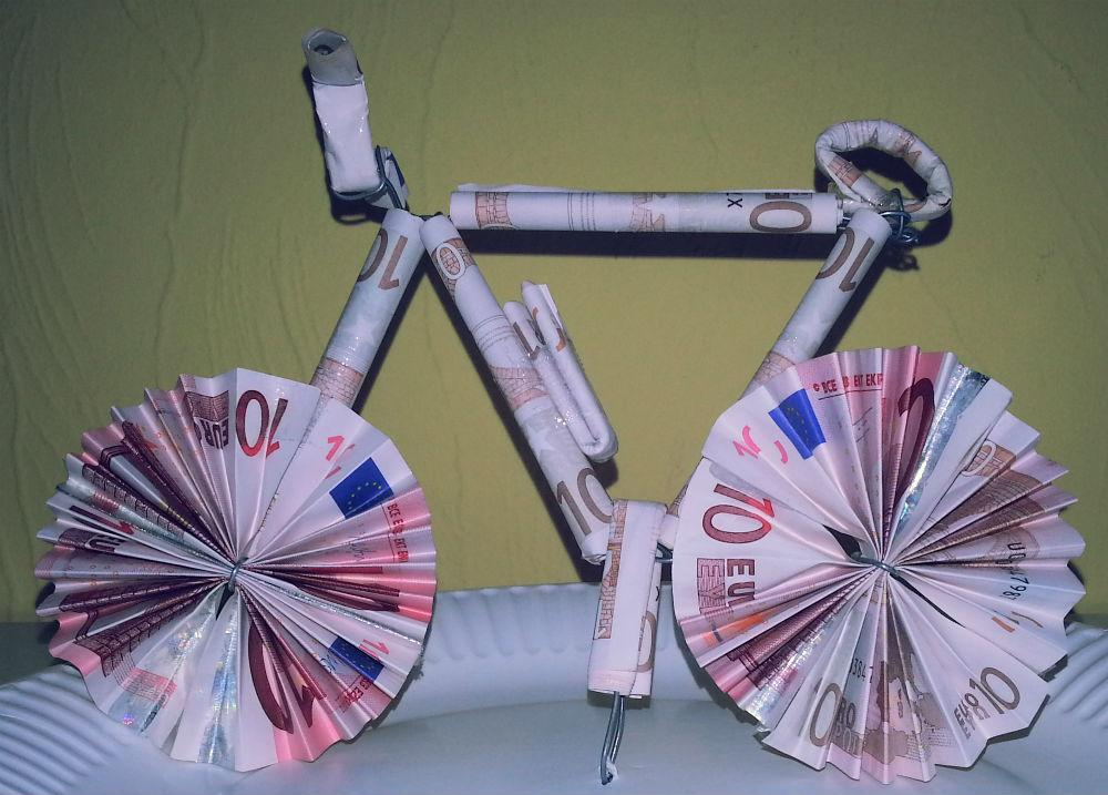 Fahrrad Geld