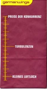 Kotztüten Germanwings