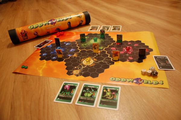 Oddworlds Spielmaterial