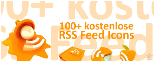 100+ kostenlose RSS Feed Icons
