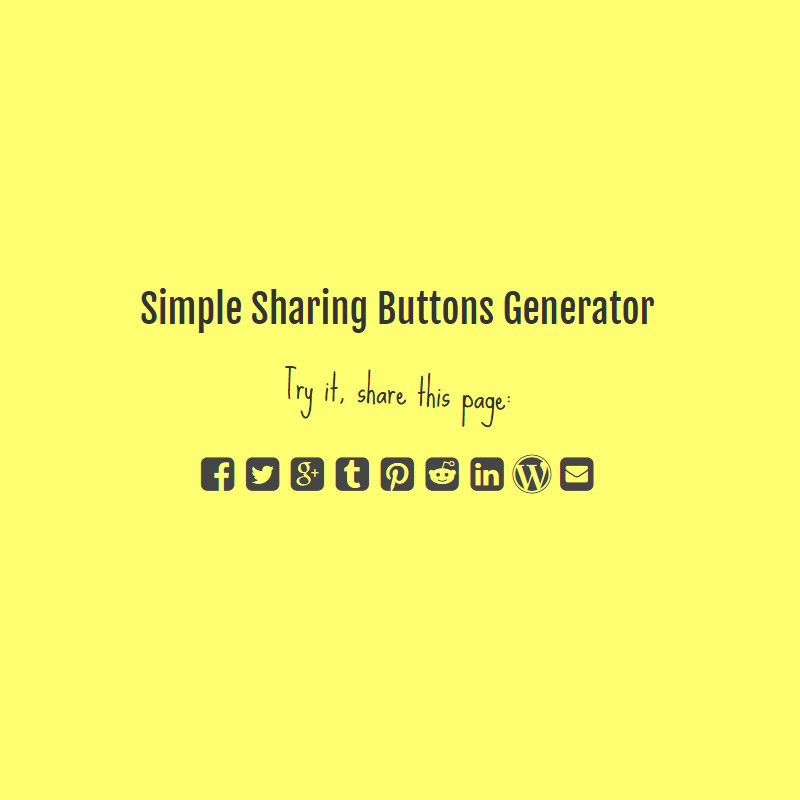 sharing-button-generator
