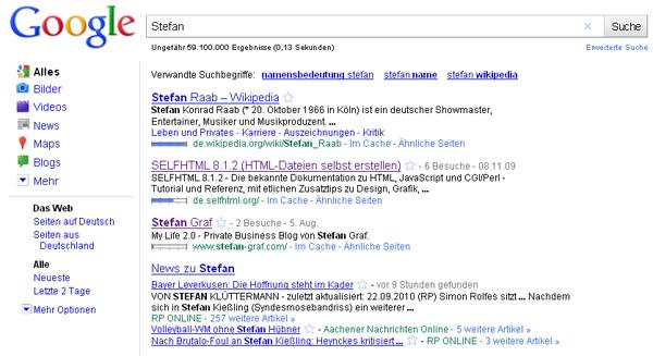 Stefan - Google - Platz 3