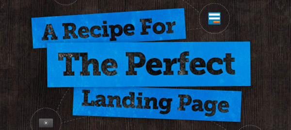 the perfect landingpage