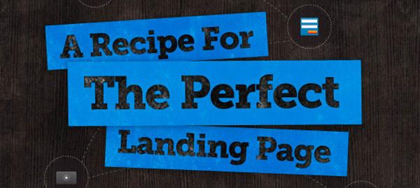the perfect landingpage