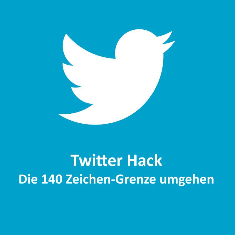 Twitter 140 Zeichen