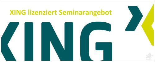 XING lizenziert Seminarangebot